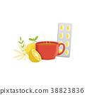 lemon, herb, tea 38823836