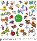 昆虫 卡通 一组 38827132