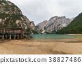 Italy, braies, lago 38827486