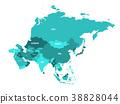 map vector russia 38828044