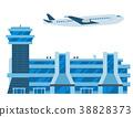 航空 機場 向量 38828373