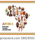 非洲 ICON 圖示 38828565