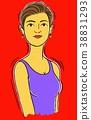30多歲和40多歲的女性 38831293