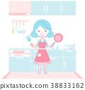 配套廚房家具 灶 廚房 38833162