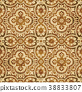 Retro brown texture grunge seamless background 38833807