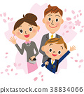 入學儀式男孩和兒童 38834066