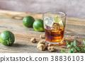 background glass rum 38836103