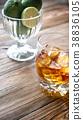 background glass rum 38836105