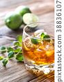 background glass rum 38836107