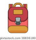 travel bagpack red 38836180
