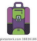 travel bagpack violet 38836186