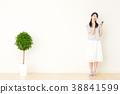 成熟的女人 一個年輕成年女性 女生 38841599