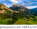 Beautiful natural landscape of the Alps.  38842234