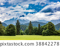Beautiful natural landscape of the Alps. 38842278