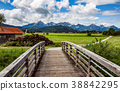 Beautiful natural landscape of the Alps.  38842295