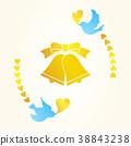 婚禮 鴿子 鈴鐺 38843238