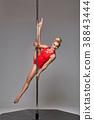 pole, female, dancer 38843444