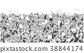 protest crowd background 38844174
