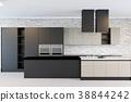 interior kitchen room 38844242