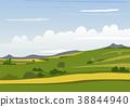 Spring Mountain Landscape 38844940