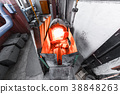 Factory manufacturing of glass production 38848263
