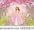 Beautiful Red Haired Princess 38849819