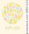 easter, egg, easter-eggs 38851523