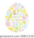 easter, egg, easter-eggs 38851536