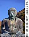 daibutsu, great statue of buddh, kamakura buddha 38852867