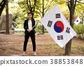 실외, 젊은여자, 도산공원 38853848