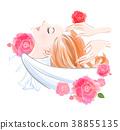 shampoo, female, lady 38855135