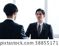 企業形象握手 38855171