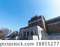 박물관, 푸른 하늘, 파란 하늘 38855277