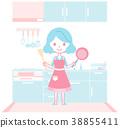 配套廚房家具 灶 廚房 38855411
