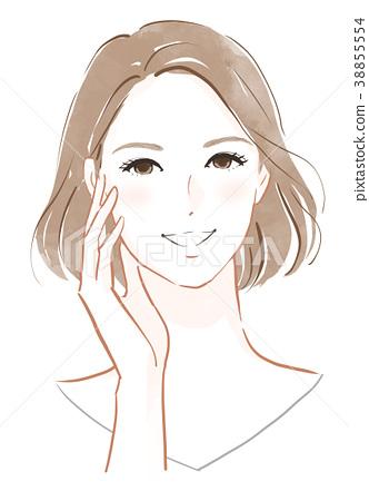 皮膚護理的形象 38855554