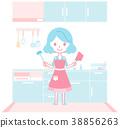 配套廚房家具 灶 廚房 38856263