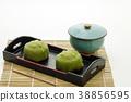 녹차 맛의 과자 일본 과자 38856595