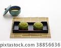 녹차 맛의 과자 일본 과자 38856636
