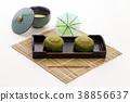 녹차 맛의 과자 일본 과자 38856637
