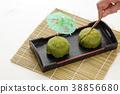 녹차 맛의 과자 일본 과자 38856680