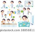 White coat women_housekeeping 38856811