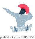 logo fitness body 38858951