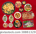 Food is sacred in the Chinese new year,  38861329