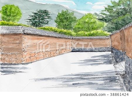 Soil wall 38861424