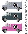 Money delivery Van or Armored Van 38862475