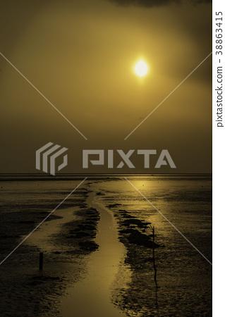 Sunset of tideland 38863415