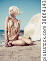 girl, female, beach 38864143