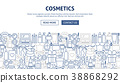banner cosmetic cosmetics 38868292