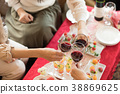 家庭聚會 葡萄酒 紅酒 38869625