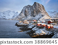 Hamnoy fishing village on Lofoten Islands, Norway  38869645